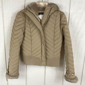 bebe Jackets & Coats - Bebe down feather jacket size Small